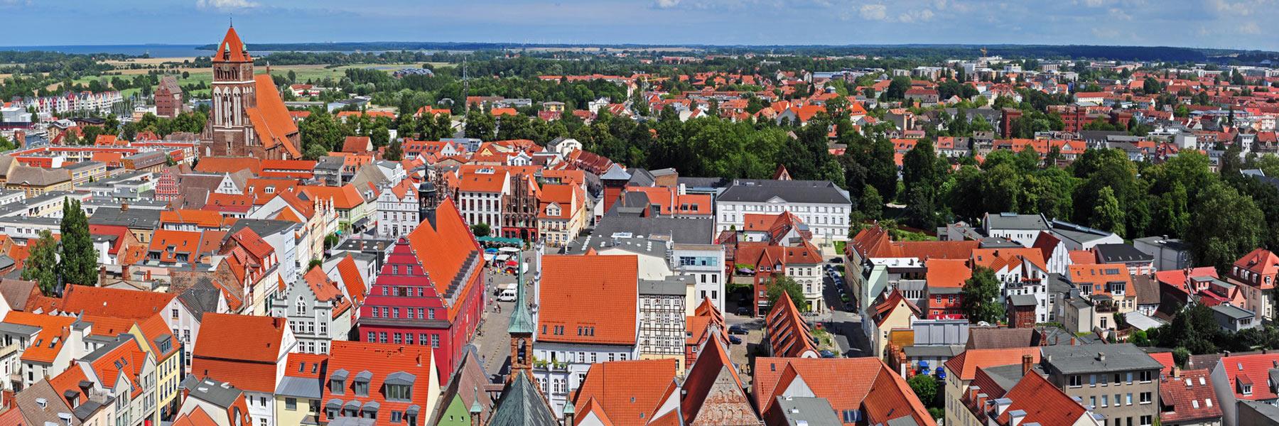 Luftaufnahme - Hansestadt Greifswald