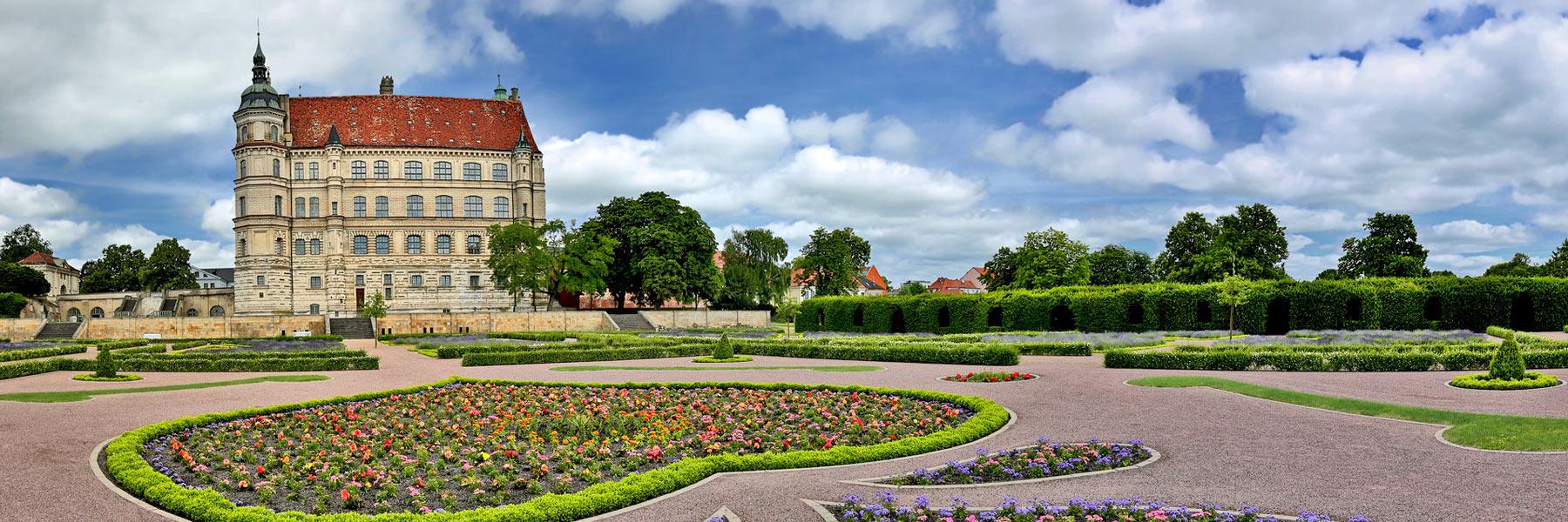 Schloss Schlossgarten - Güstrow