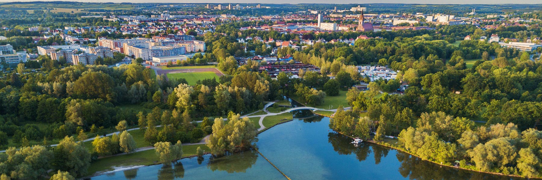 Luftaufnahme - Neubrandenburg