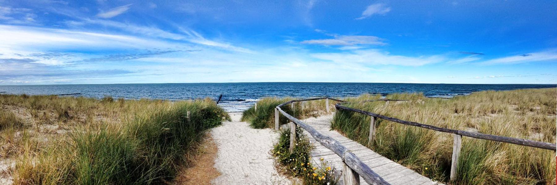 Strandzugang - Ostseeheilbad Zingst