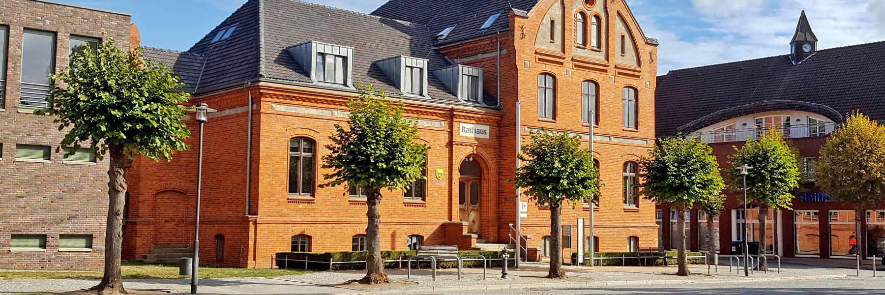 Rathaus - Lübz