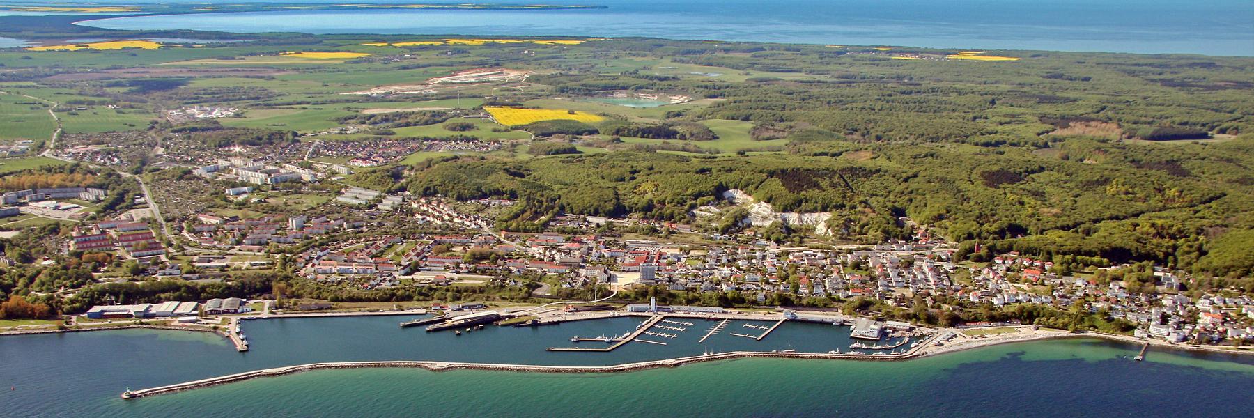 Luftaufnahme - Sassnitz
