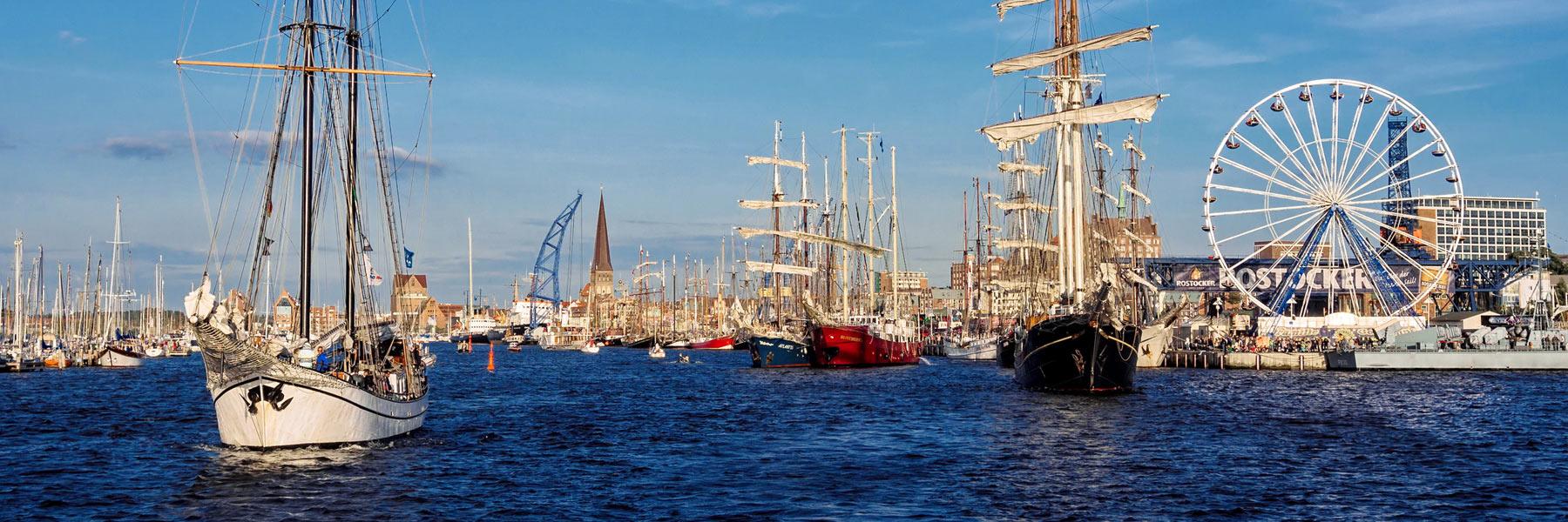 Hanse Sail - Hansestadt Rostock