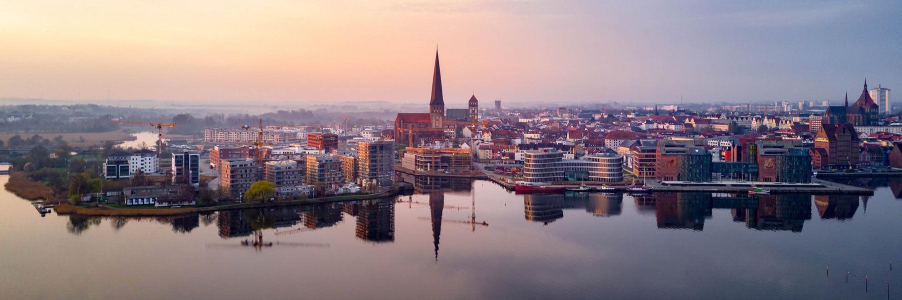 Luftbild - Hansestadt Rostock