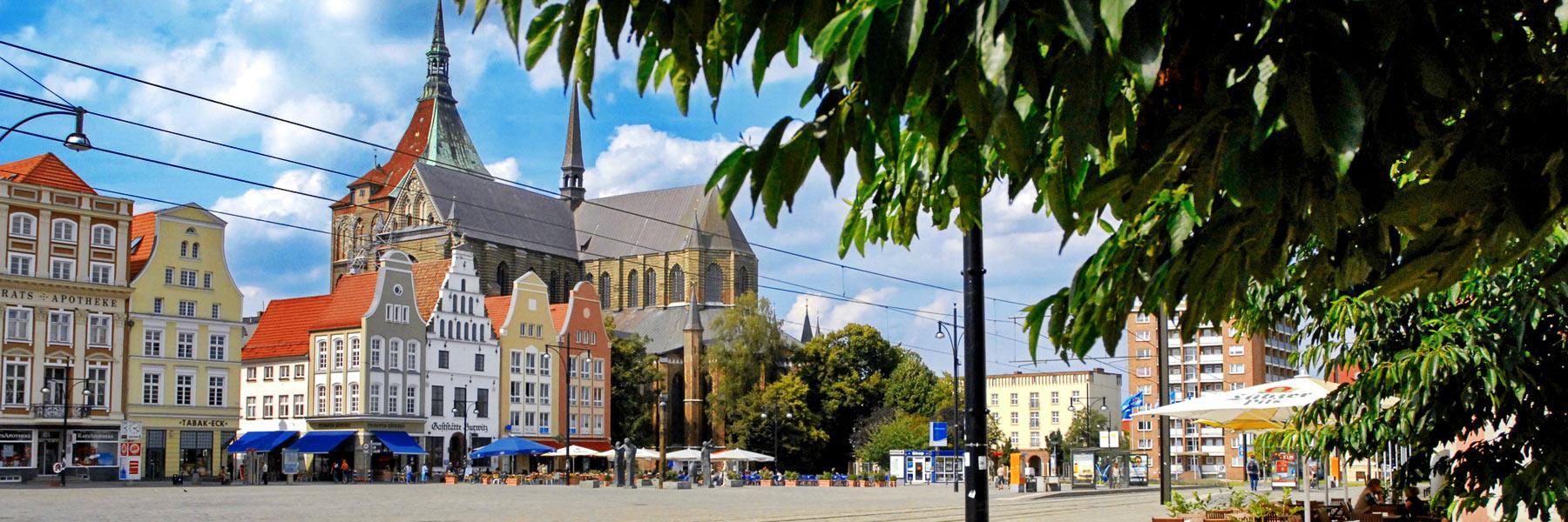 Neuer Markt - Hansestadt Rostock