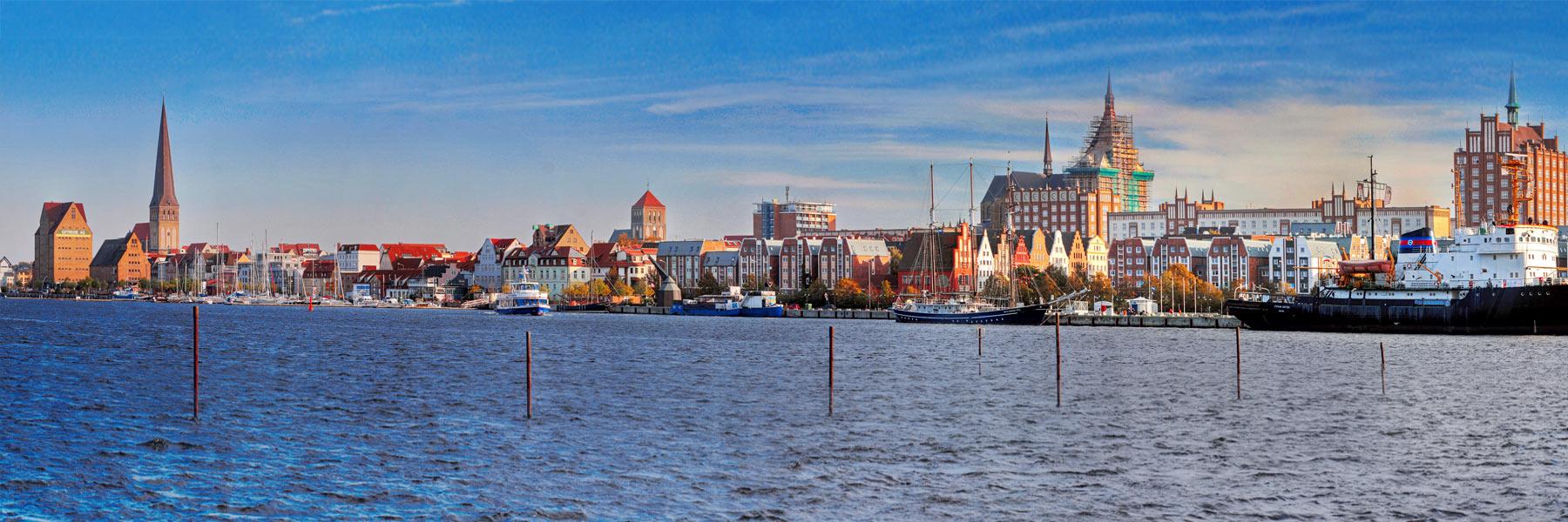 Stadthafen - Hansestadt Rostock
