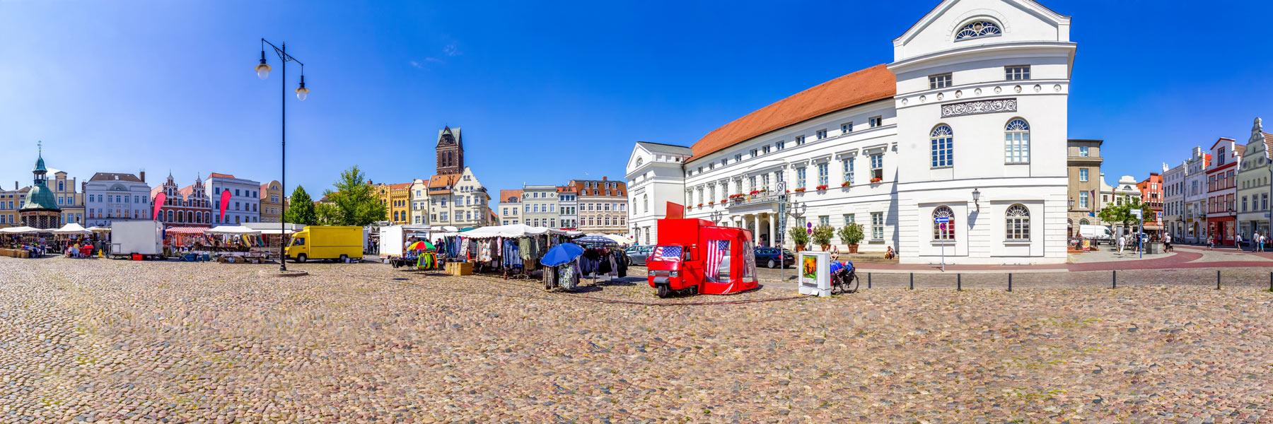 Marktplatz - Hansestadt Wismar