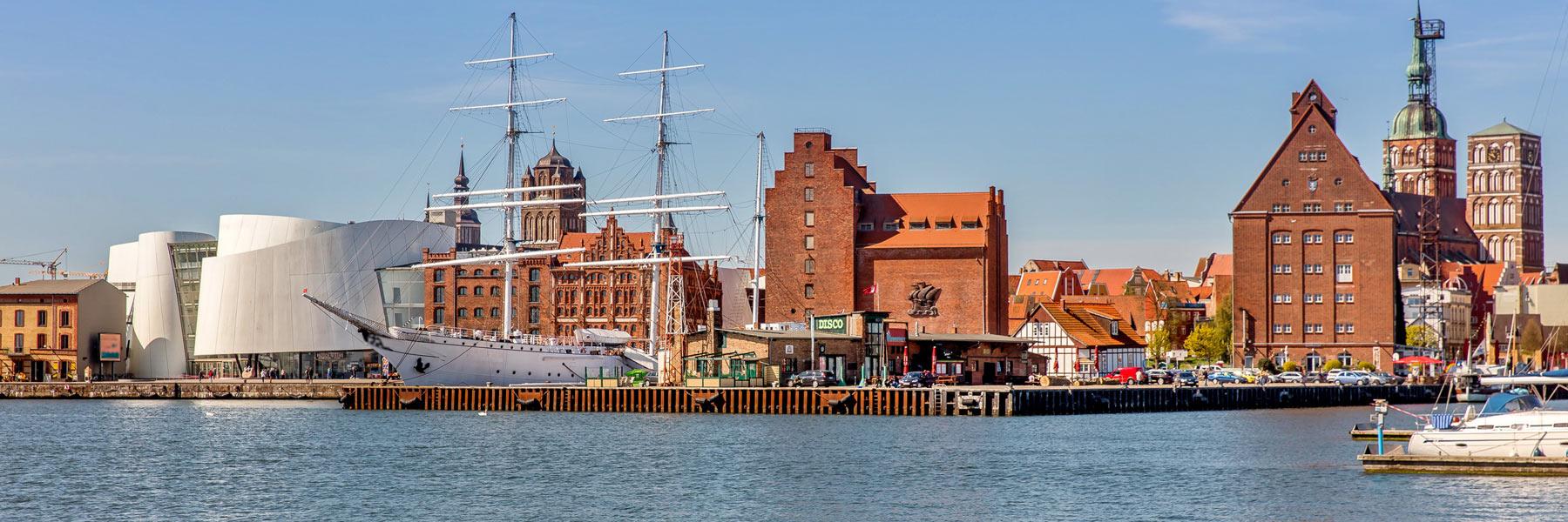 Hafen - Hansestadt Stralsund
