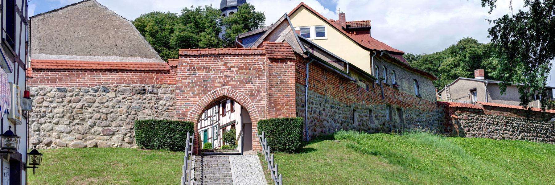 Stadtmauer - Sternberg