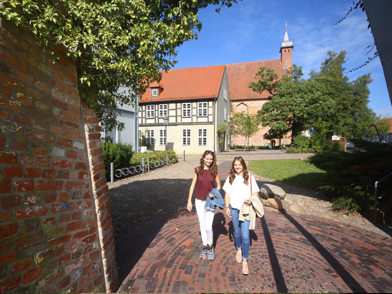 Klosteranlage | © Stadt Ribnitz-Damgarten
