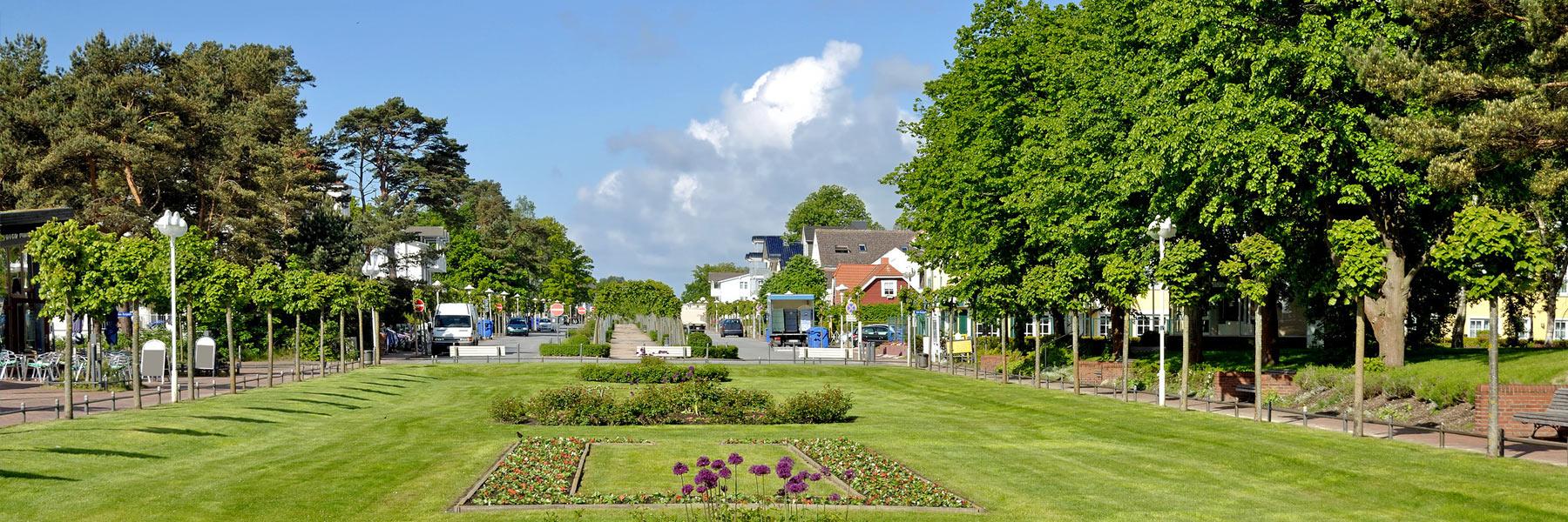 Promenade - Ostseebad Baabe