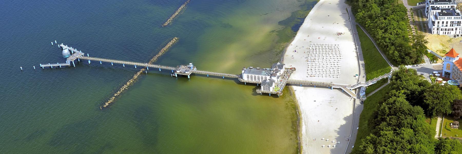 Luftaufnahme - Ostseebad Sellin