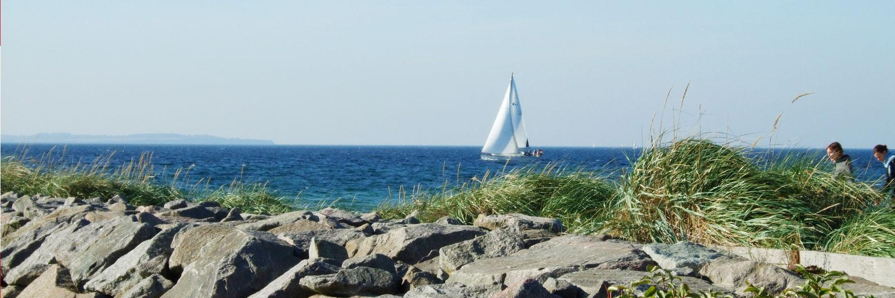 Segelboot - Insel Poel