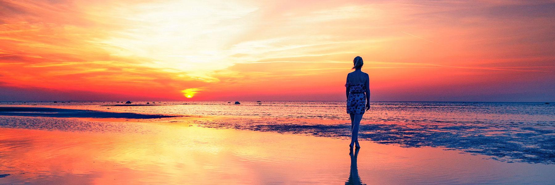 Sonnenuntergang - Insel Poel