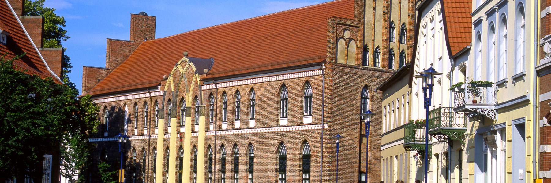 Rathaus - Stadtinformation Parchim
