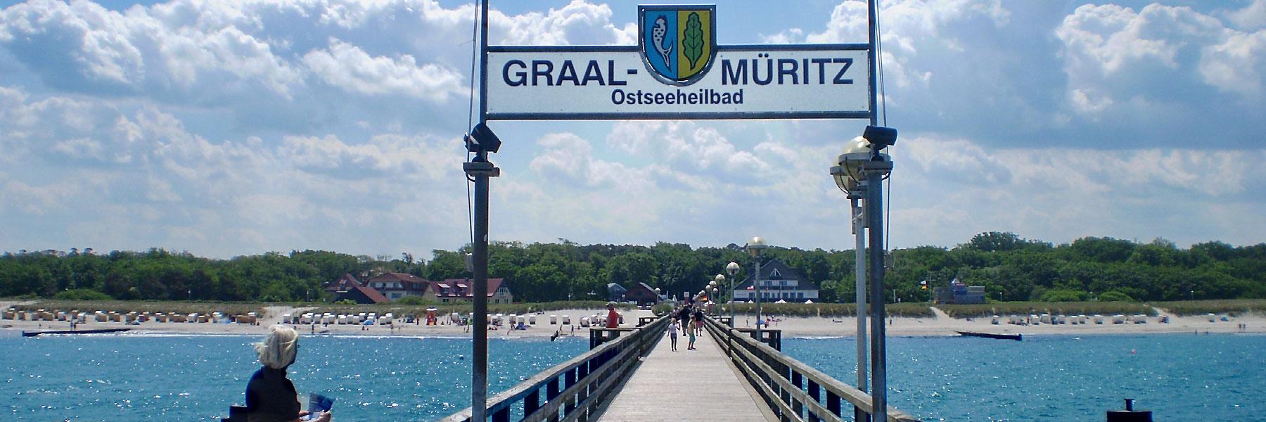 Seebrücke - Graal-Müritz