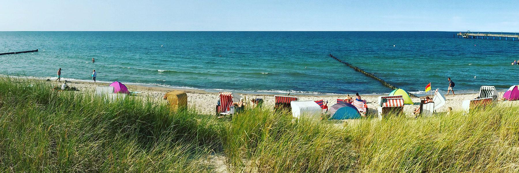 Strand Seebrücke - Graal-Müritz