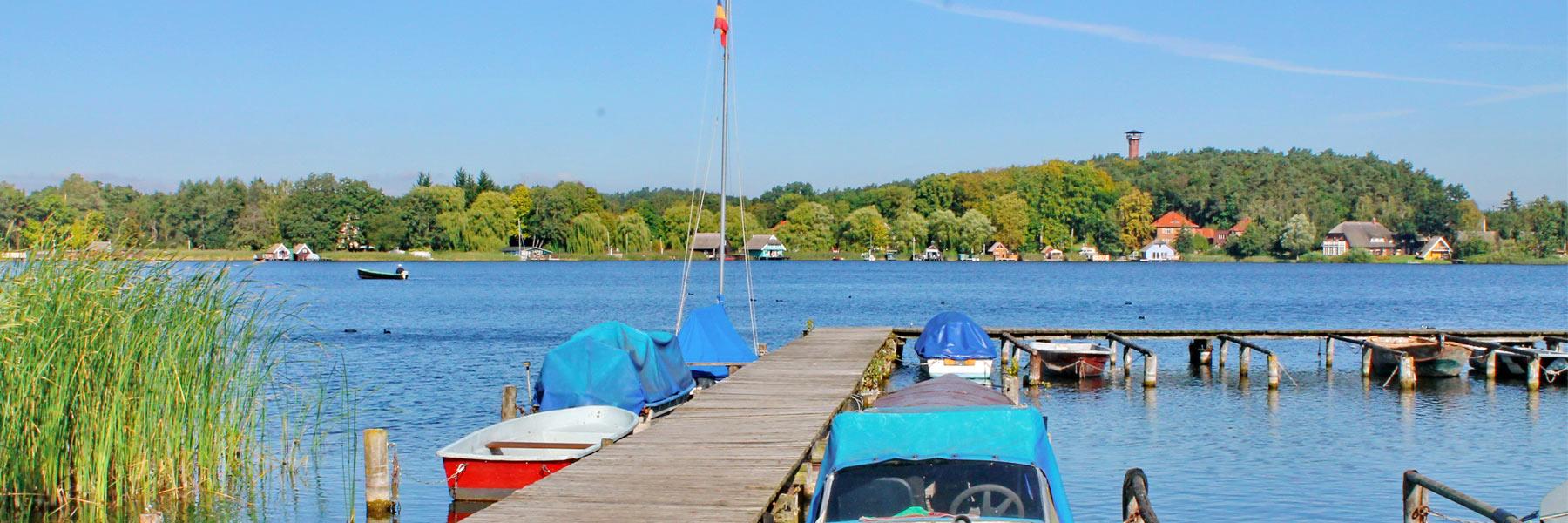 Bootsanleger - Krakow am See