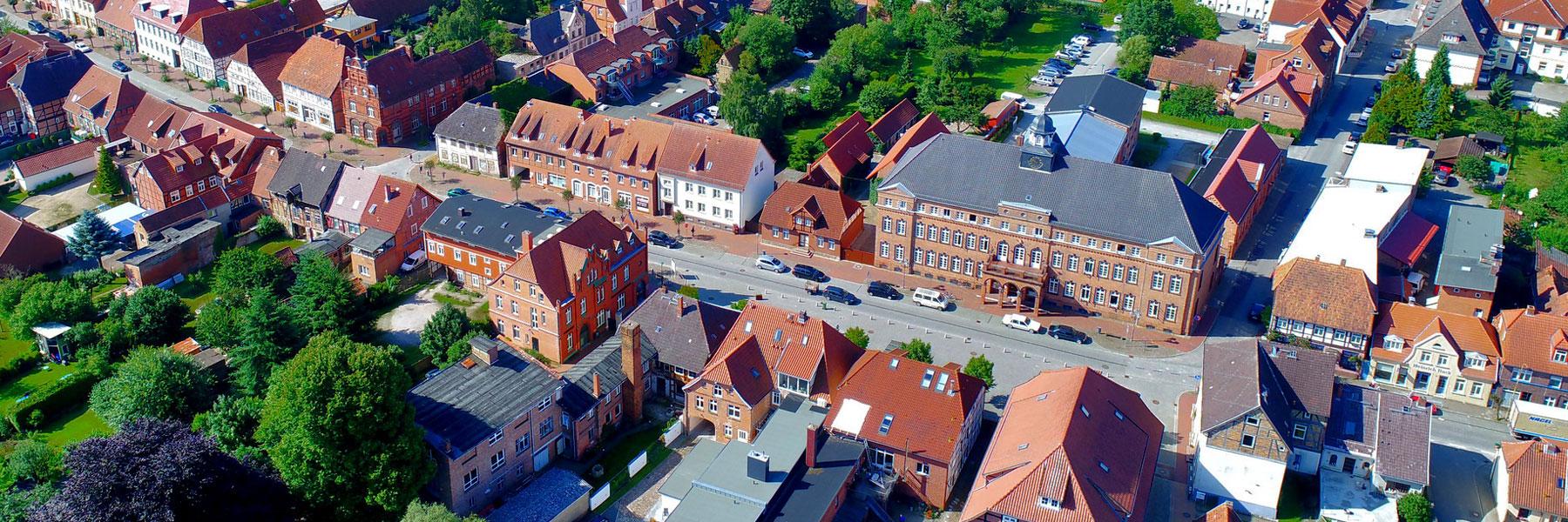Luftaufnahme - Hagenow