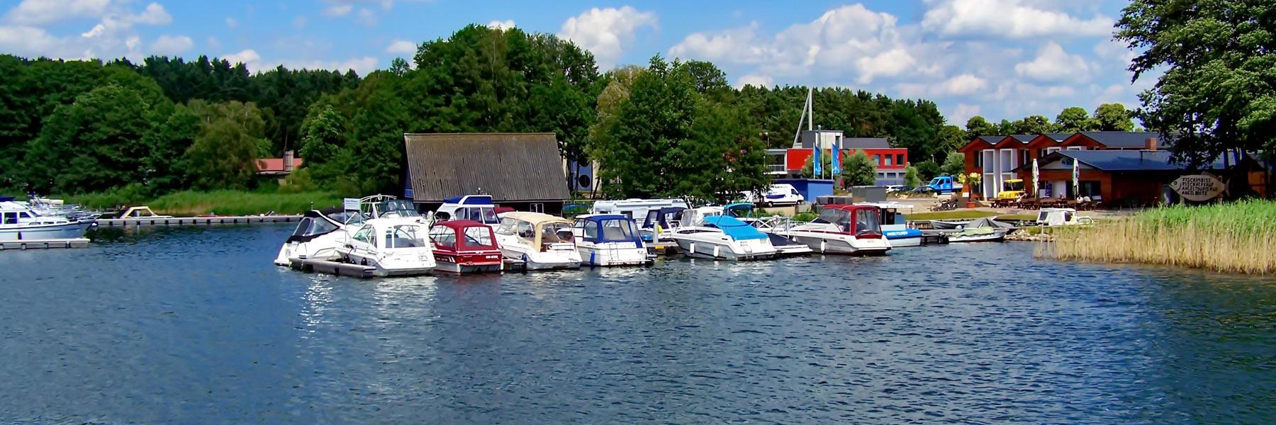 Hafen - Gemeinde Klink