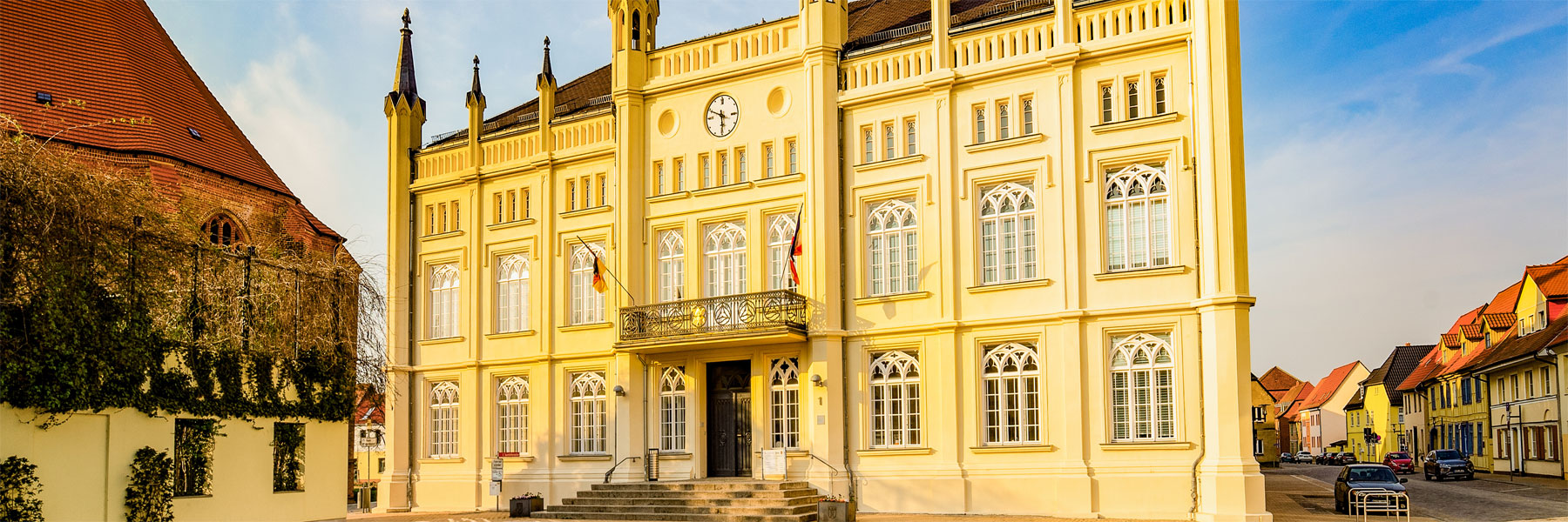 Rathaus - Stadt Bützow