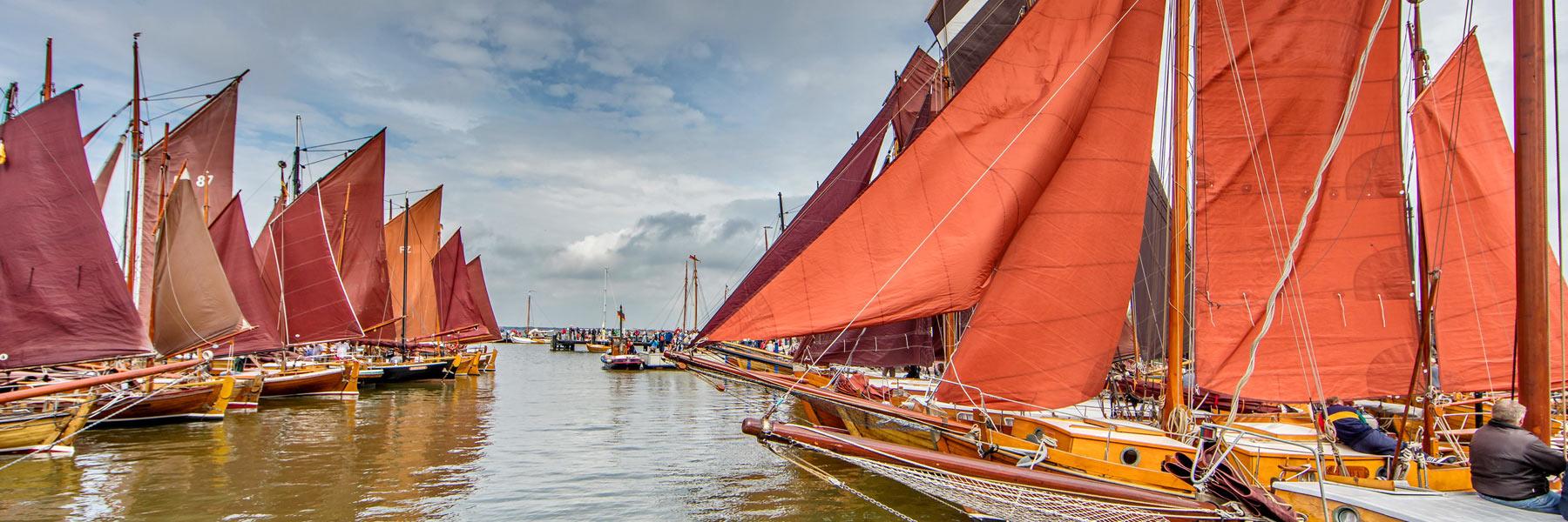Zeesboote - Fischland-Darß-Zingst