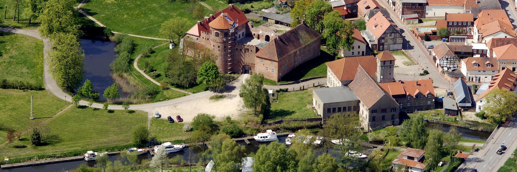 Luftaufnahme - Stadtverwaltung Neustadt-Glewe