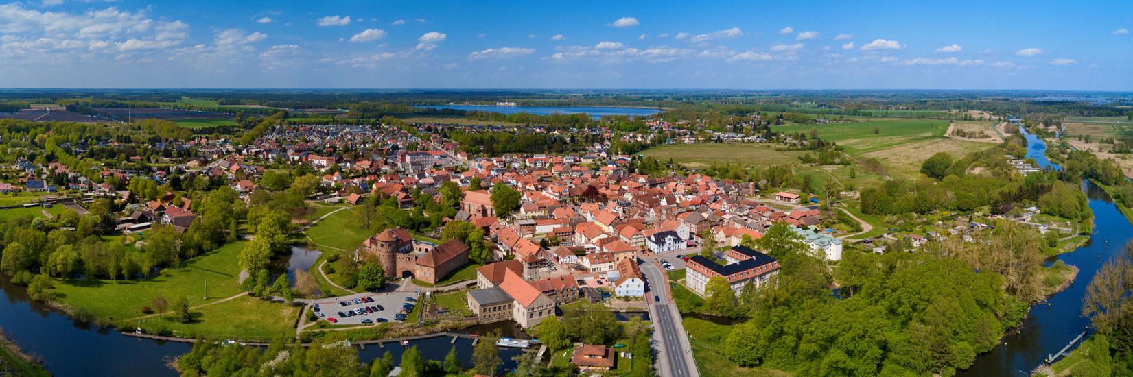 Luftbild - Stadtverwaltung Neustadt-Glewe