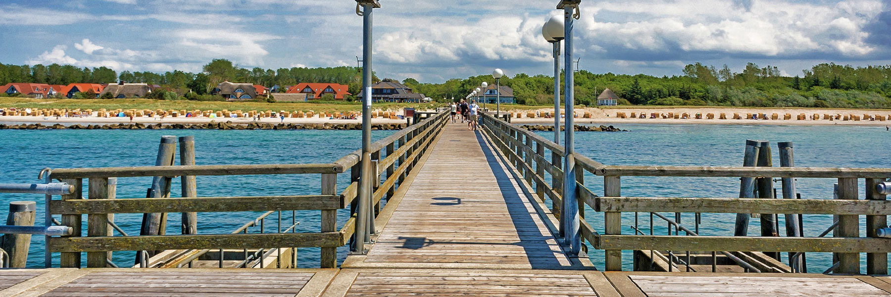 Seebrücke - Kurverwaltung Ostseebad Wustrow
