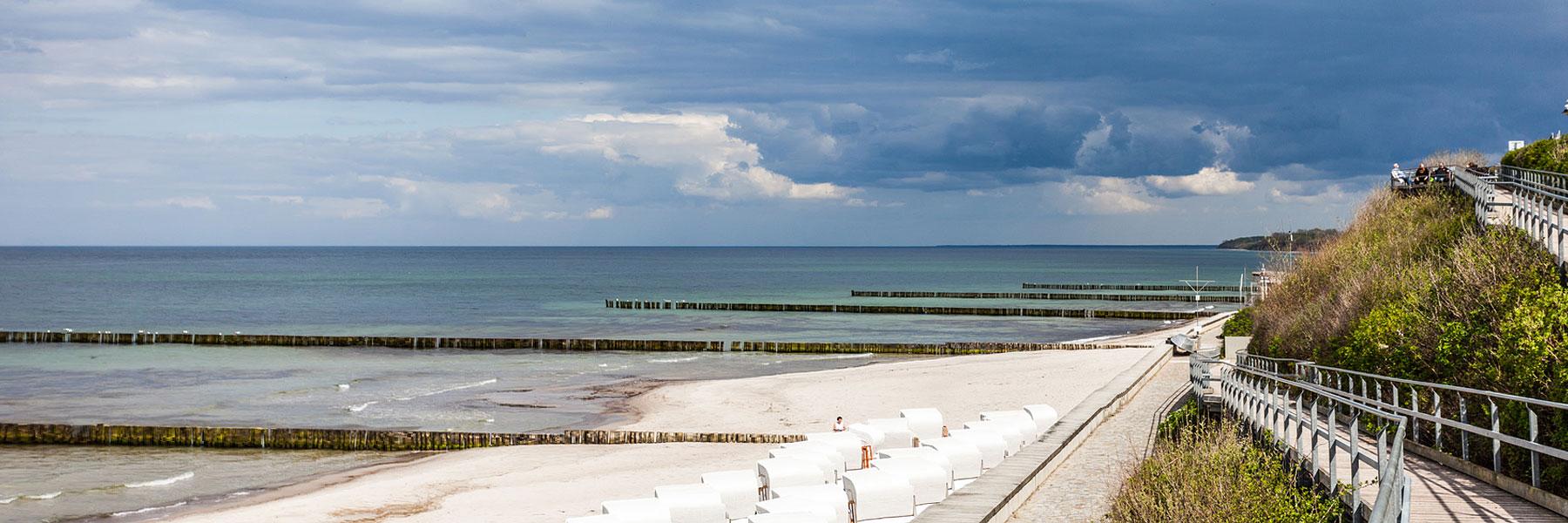 Strandaufgang - Ostseebad Nienhagen