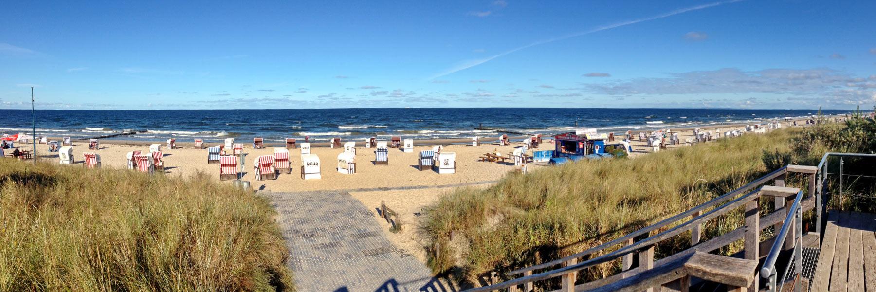 Strandzugang - Seebad Ückeritz