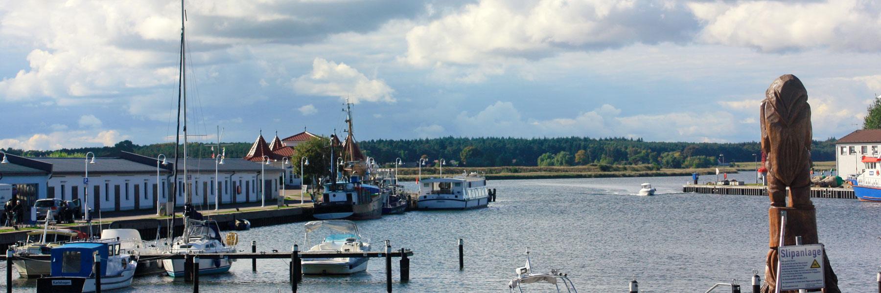 Hafen - Ostseebad Karlshagen