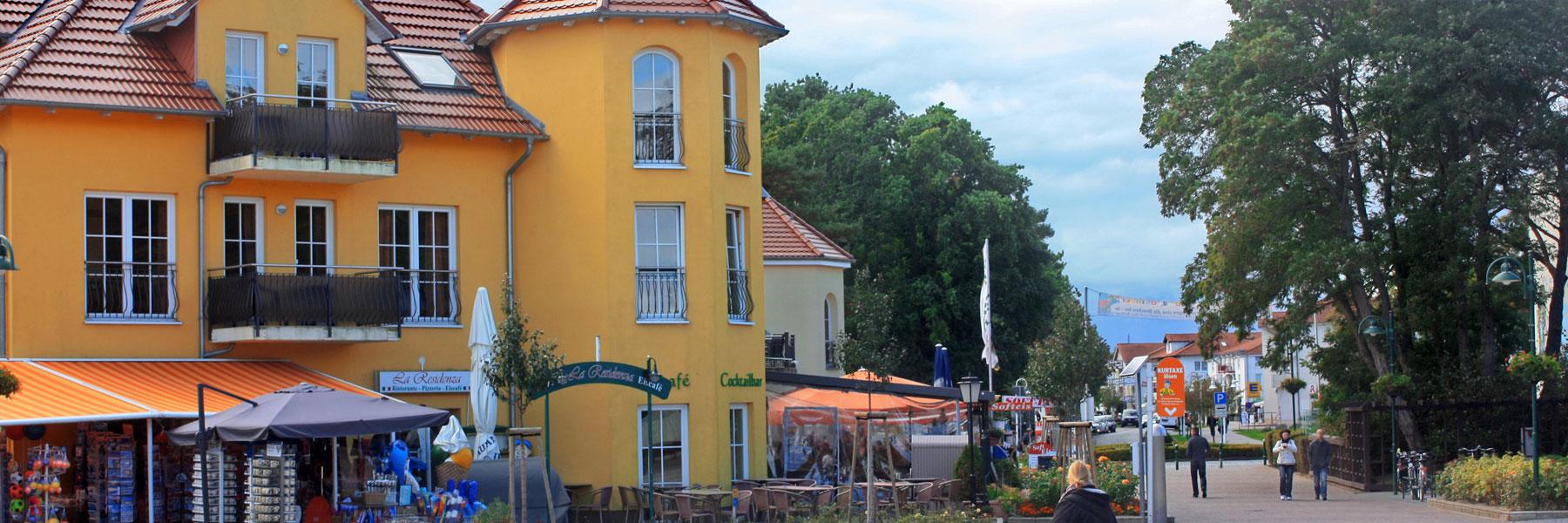 Strandpromenade - Ostseebad Karlshagen