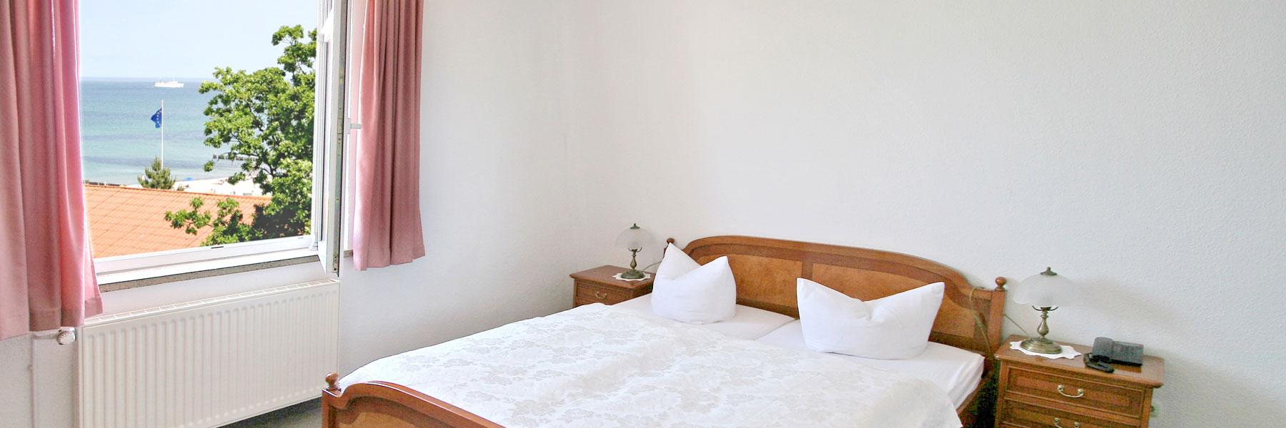 Zimmeransicht - Hotel Garni Esplanade