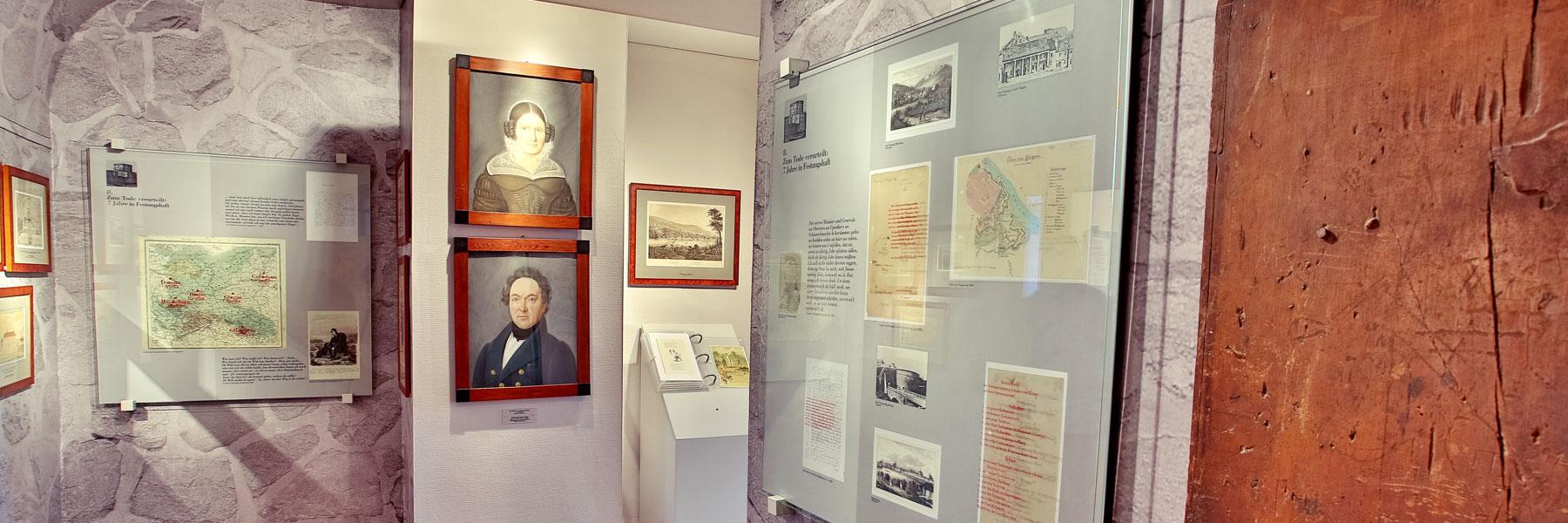 Ausstellung Festungszeit - Fritz-Reuter-Literaturmuseum