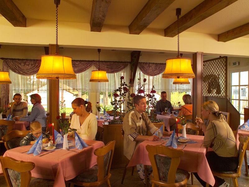 Gäste in unserem à la carte Restaurant