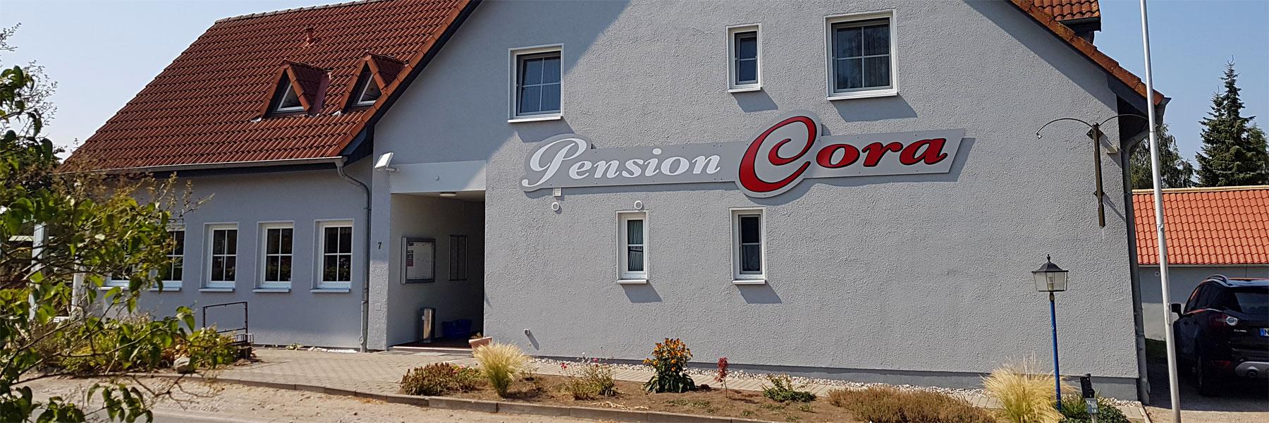 Aussenansicht - Pension Cora