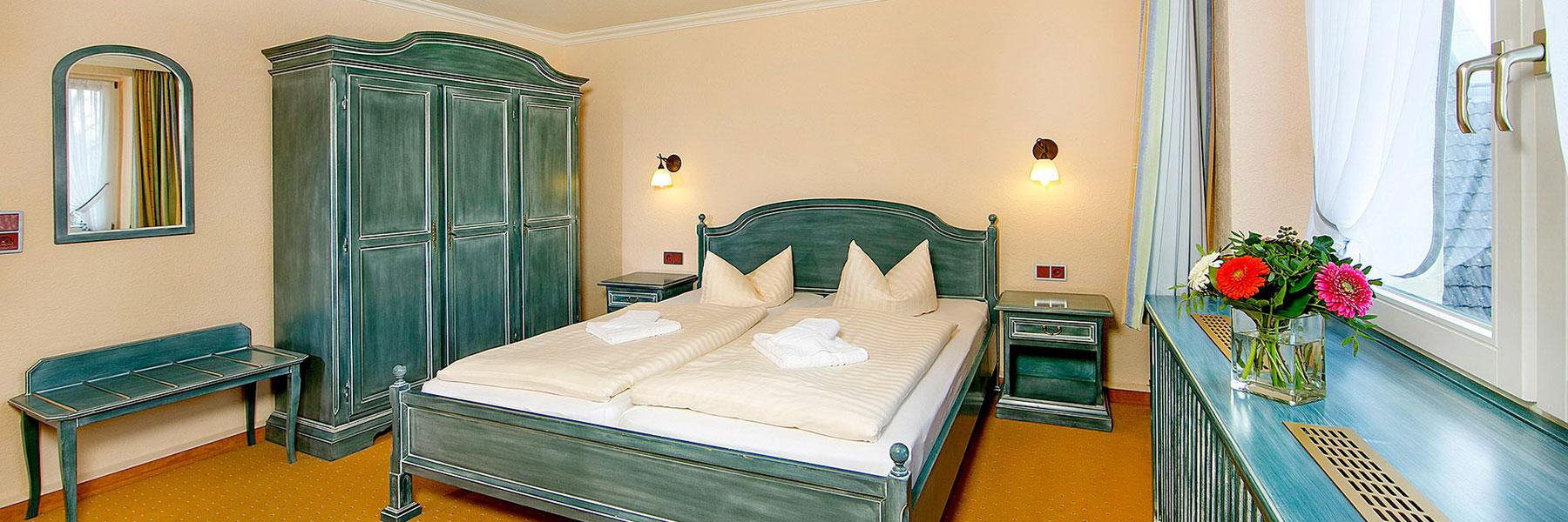 Doppelzimmer - Hotel Dünenschloß