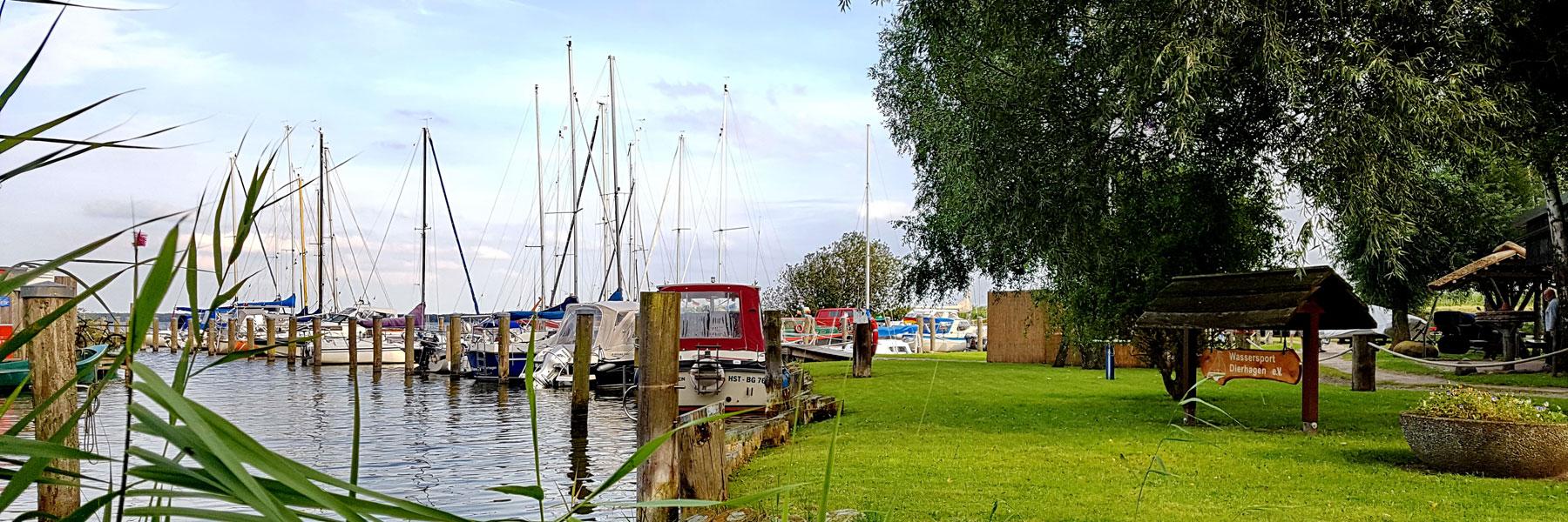 Hafen Dierhagen - Gaststätte & Pension Am Wiesengrund