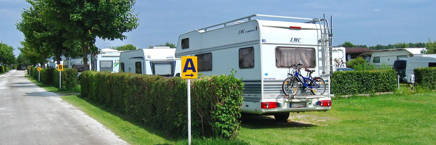 Wohnmobile - Campingplatz Leuchtturm