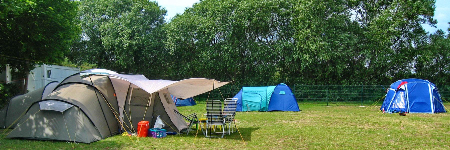 Zelte - Campingplatz Leuchtturm