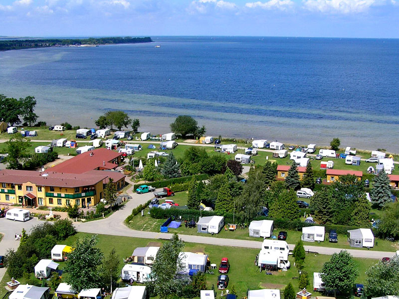 Blick auf den Ferienpark