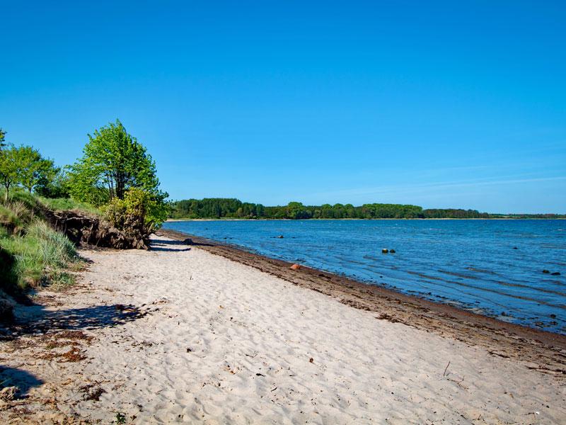 Ostseestrand von Zierow