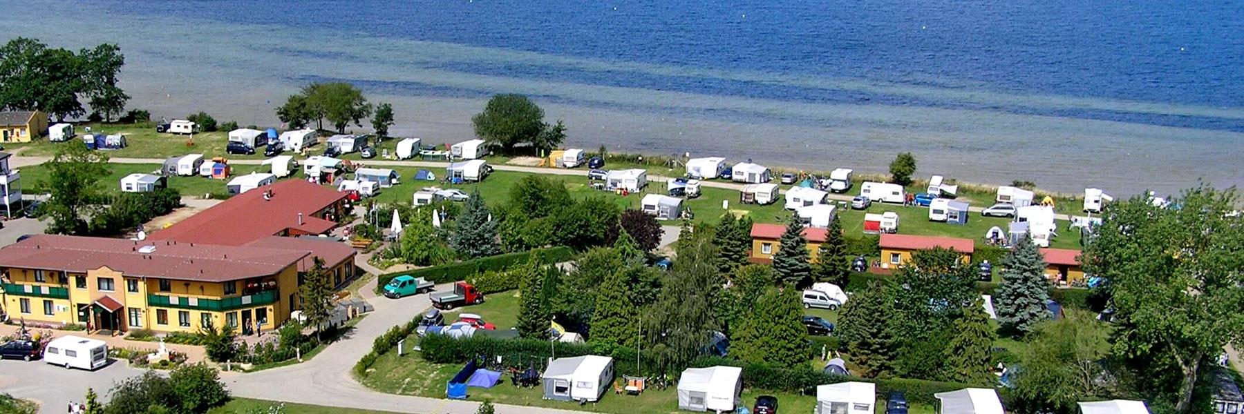 Luftbild - Ostseecamping Ferienpark Zierow KG
