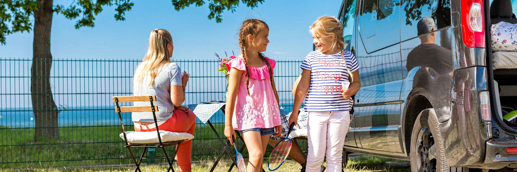 spielende Kinder - Ostseecamping Ferienpark Zierow KG