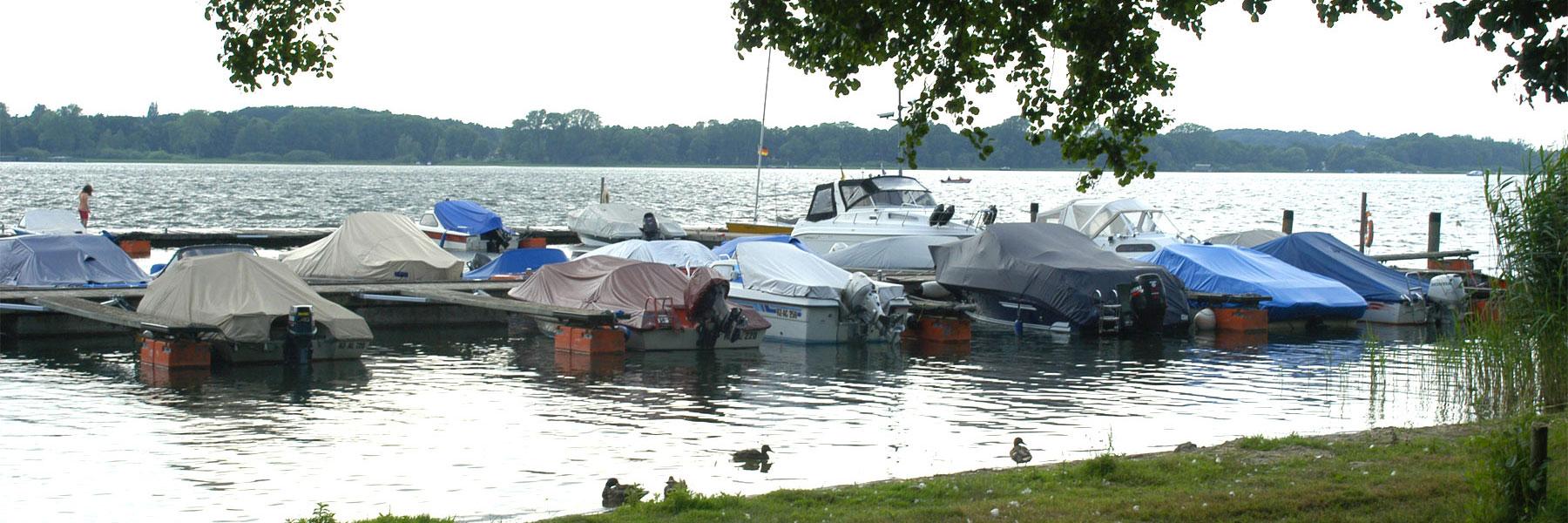 Boote - Wald- und Seeblick Camp
