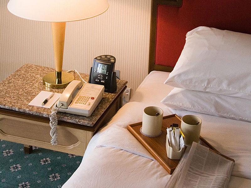 Einzelzimmer in Hotel Johannesruh