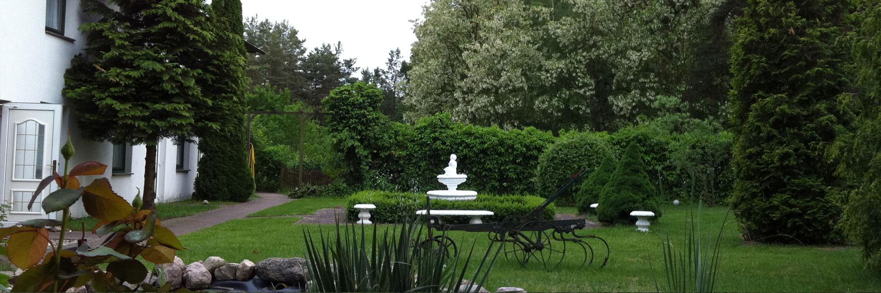 Garten - Hotel & Waldrestaurant Johannesruh