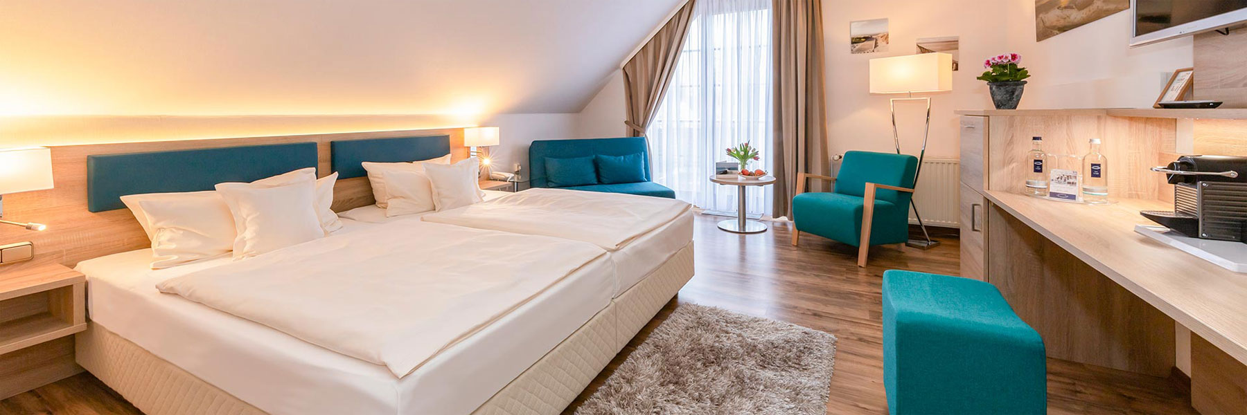 Doppelzimmer - ****Hotel Blinkfüer