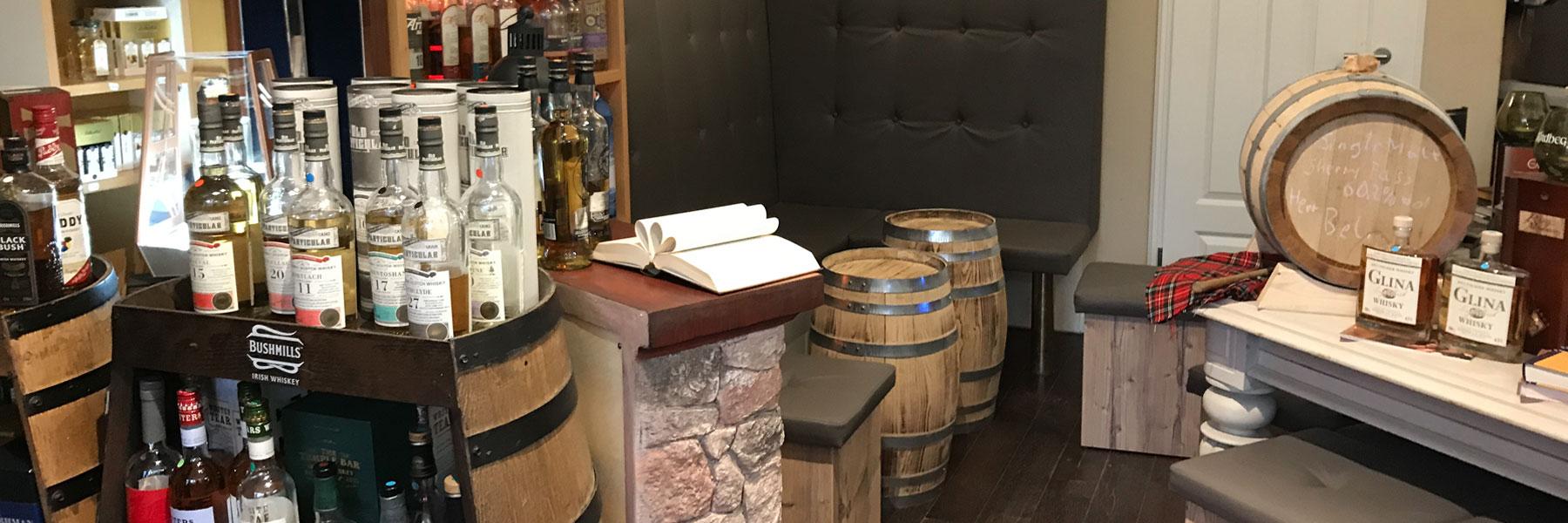 Sitzgelegenheit - Whisky Oase Sonnenhof
